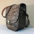 Женская сумка из крокодиловой кожи №003