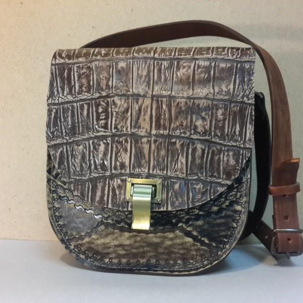 9f362f199a9b Женская сумка №003 из кожи крокодила | Авторские сумки и аксессуары ...