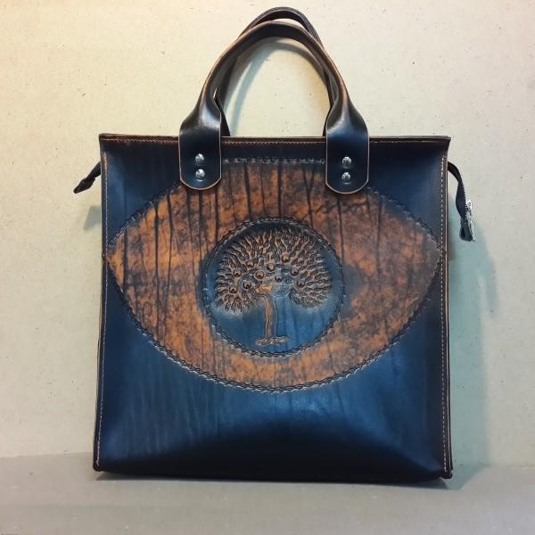 Женская сумка №312 из натуральной кожи