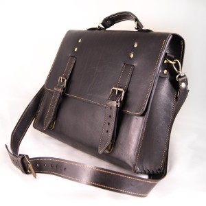 Мужской кожаный портфель №016