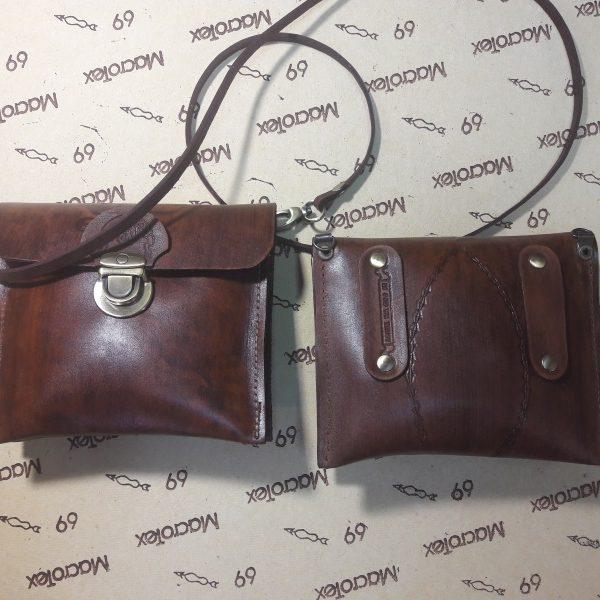 Маленькая женская сумка №316 из натуральной кожи